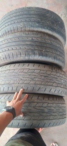 Vendo 4 pneus 215/60/ aro 17 dois quaser novo da marca goodiyear - Foto 4