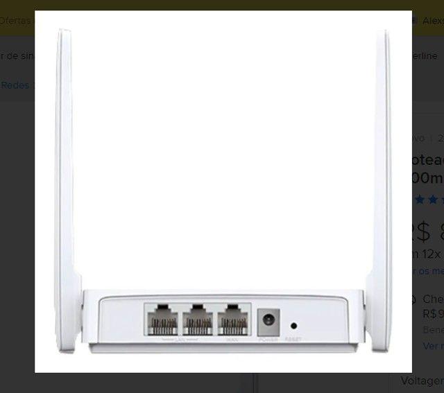 roteador mercusys wireless n 300mbps mw301r - mercusys - Foto 3