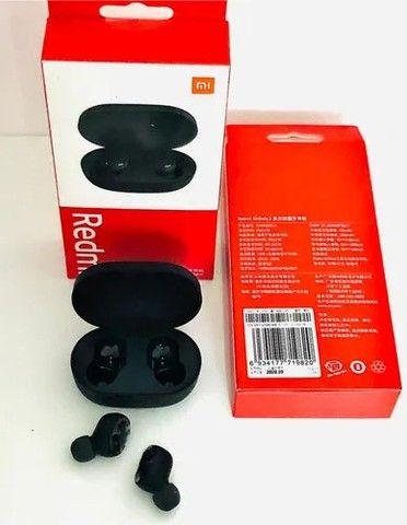 Fone In-ear S/fio Xiaomi Redmi Airdots 2 Preto (novo)