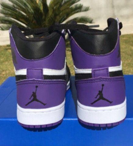 Air Jordan 1 Court Purple  - Foto 4