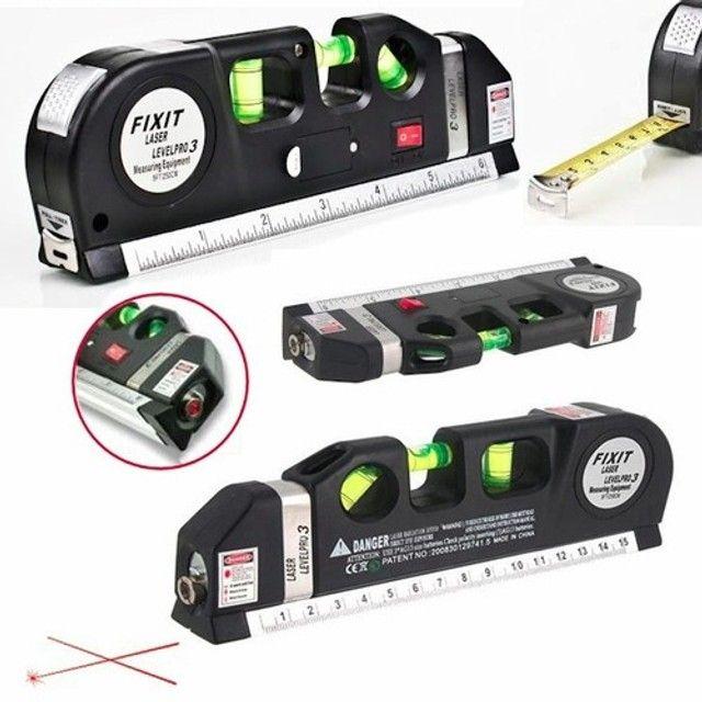 NOVO! Nível a Laser Profissional com Trena - Foto 6
