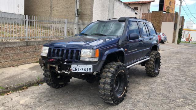 Jeep Grand Cherokee Limited V8 Pronta P Trilha