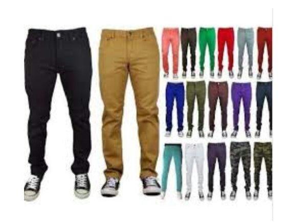 Calças Sarja Multimarcas Modelos Skinny no Atacado - Foto 4