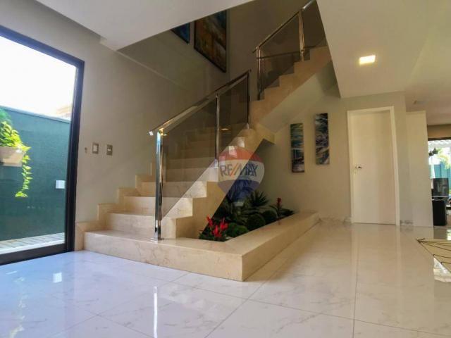 Casa com 3 dormitórios à venda, 337 m² por R$ 2.100.000 - Condomínio Alphaville Fortaleza  - Foto 15