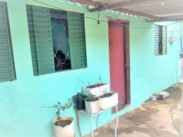 Casa 2 quartos nos fundos, mas kit na lateral,recanto das emas quadra 605 - Foto 8