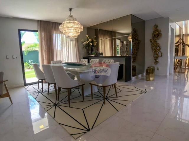 Casa com 3 dormitórios à venda, 337 m² por R$ 2.100.000 - Condomínio Alphaville Fortaleza  - Foto 10