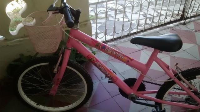 Bicicleta da barbie
