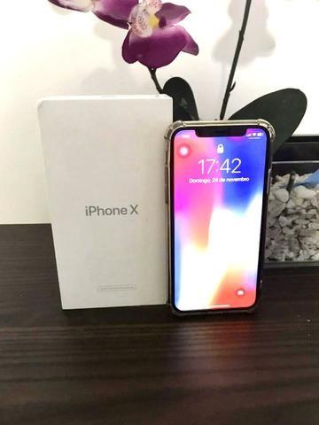 IPhone X com GARANTIA APLLE até 02/05/20 - Foto 2