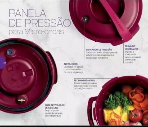 Panela de pressão tupperware - Foto 2