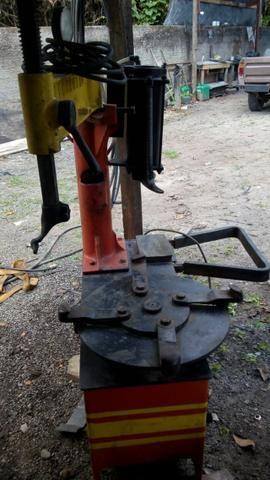 Maquina de desmontar pneu de carro e chave de impacto pneumática 01 polegada