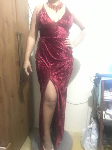 Vestido usado em formatura de direito - Foto 4