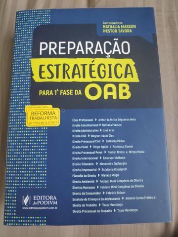 Livro preparação para Oab 1 fase