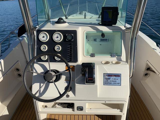 Lancha Fishing 265 - Mercruiser 5.0 V8 gasolina - Impecável - Foto 15