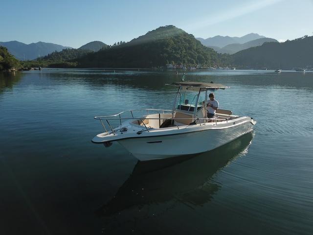 Lancha Fishing 265 - Mercruiser 5.0 V8 gasolina - Impecável - Foto 7