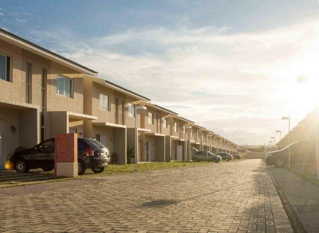 CA1572 Casa 80m² Cond. Magna Villaris 3 Qts Sendo 2 Sts Decorada, Climatizada, e Mobiliada