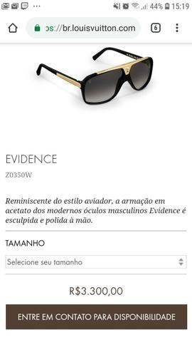 2a2c4b92dff47 Óculos Louis Vuitton Z0350W - Aceito Trocas - Bijouterias, relógios ...