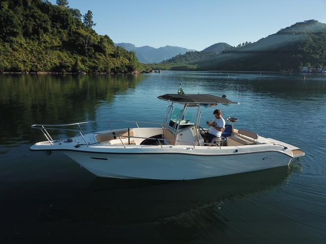 Lancha Fishing 265 - Mercruiser 5.0 V8 gasolina - Impecável - Foto 8