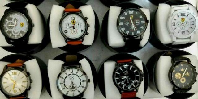e0328fb8793 Lote Relógios Masculinos 10 Unidades Para Revenda Multi-Marcas Kit Barato