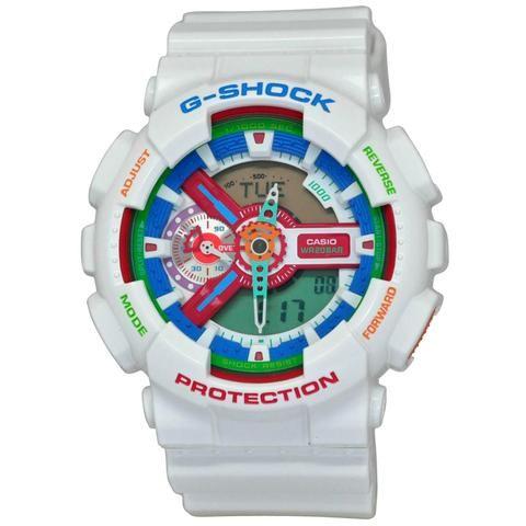 Relógio G Shock GA-110MC-7 Crazy Colors