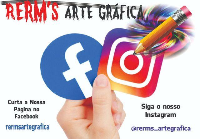 Rerm's Arte Gráfica - cartão visita,banner e muito mais  - Foto 2