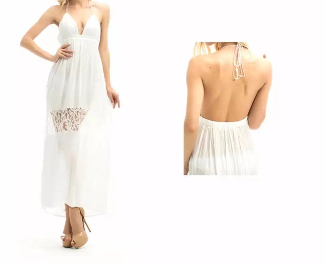 Vestido branco longo  - Foto 2