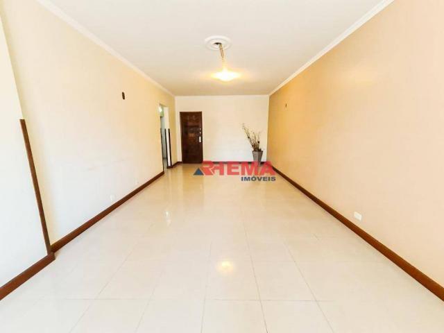 Apartamento com 3 dormitórios à venda, 146 m² por R$ 629.000,00 - Aparecida - Santos/SP