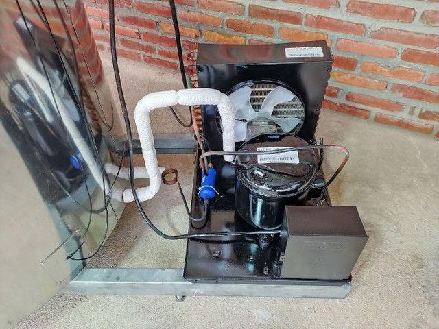 Resfriador Agranel Inox 400 Litros Semi Novo - Foto 4