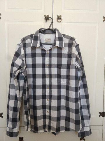 Camisas Xadrez Tam G - Kit com 3 - Ótimo Estado - Foto 2