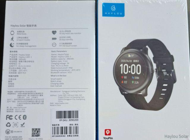 Smartwatch Haylou solar  novo  xiaomi  - Foto 3