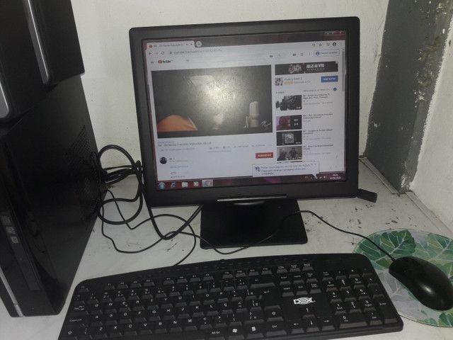 Vendo computador completo Wi-Fi, som home office - Foto 6