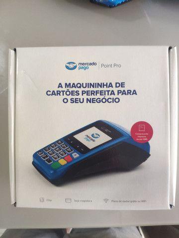 Máquina de cartão com bobina Mercado Pago Point Pro - Imprimi comprovante  - Foto 2