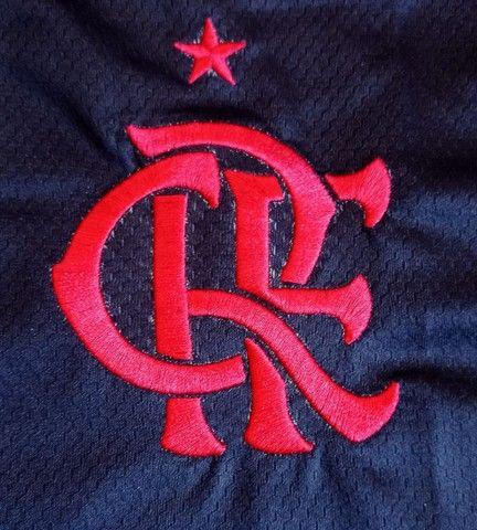 Camisa do Flamengo preta (disponível: P, G e GG) - Foto 4