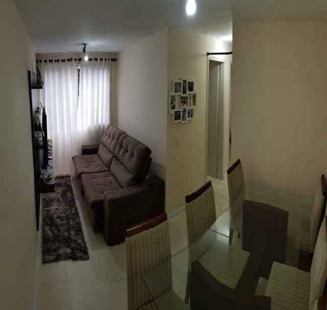 Apartamento com 3 quartos_semi mobiliado no Fazendinha  - Foto 3