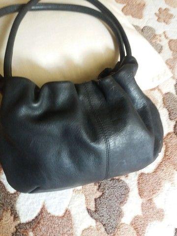 Bolsas em couro legítimo , bem conservadas  - Foto 3