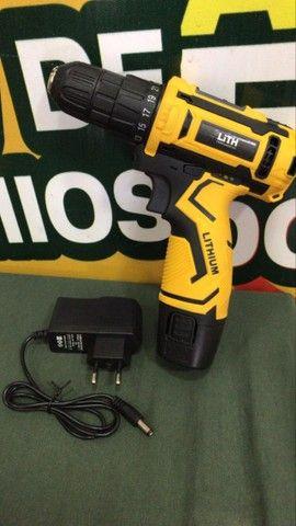 ( novo ) parafusadeira furadeira à bateria lith 12v 26 torques