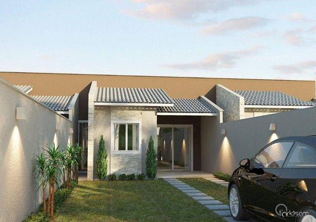 Casa à venda, 75 m² por R$ 164.000,00 - Mangabeira - Eusébio/CE - Foto 6