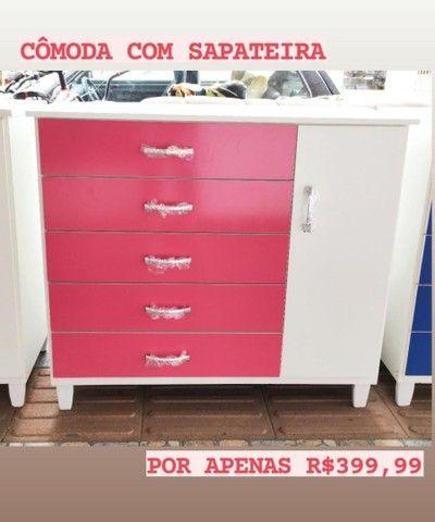 COMODAS COM SAPATEIRA NOVA - Foto 4