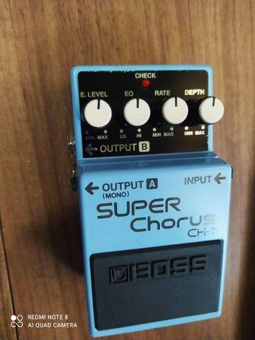Pedal Guitarra Boss Ch1 Super Chorus - Foto 2