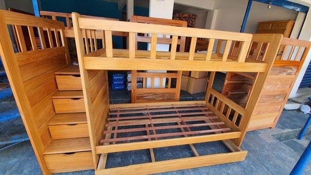 Triliche Premium Escadas e Gavetas super Barato e conforto  - Foto 2