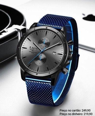 Relógio Masculino Importado Original Lige