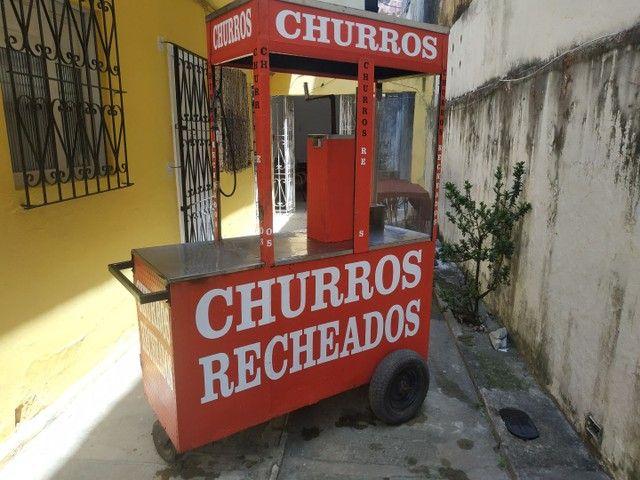 CARROCINHA DE CHURROS - Foto 3