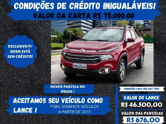 Fiat Toro 2017 - Somos a solução p/seu crédito, venha conferir!