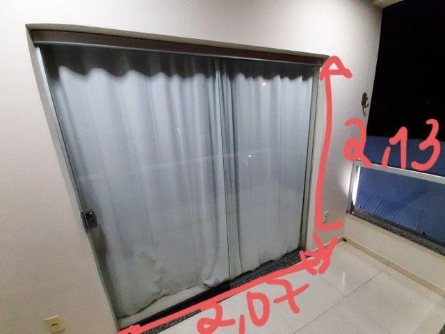 Porta de correr vidro 8mm - Foto 2