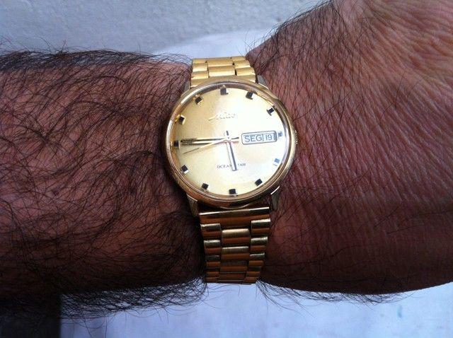 Relógio mido suíço ocean está 100% original