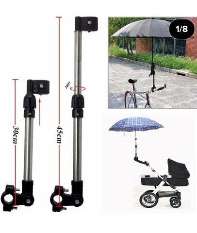 Suporte de guarda chuva para bicicleta - Foto 4