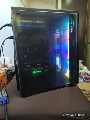 Super PC Ryzen 5 2600 RX 570 Aorus 16gb SSD 256gb
