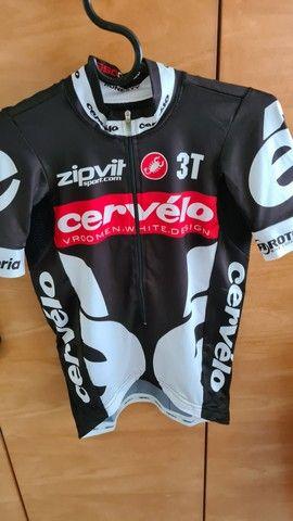 Camisa Ciclismo Castelli Team Cervélo original