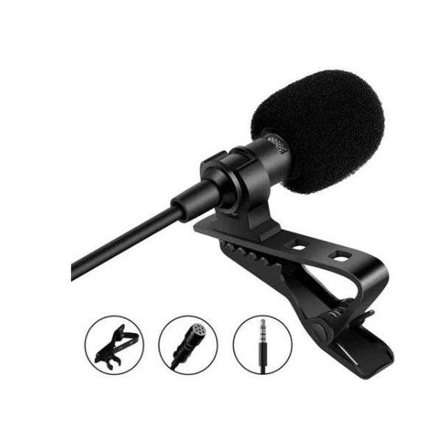 Microfone de Lapela Profissional Computador Youtuber Câmera em Joinville - Foto 3
