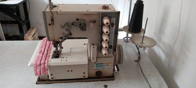 Máquina de costura Galoneira Bracob usada - Foto 4