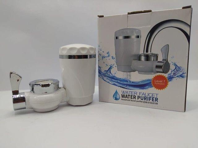 Purificador de água para torneiras